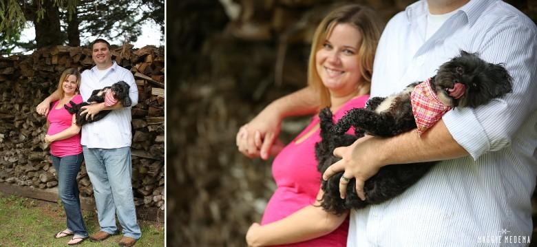 Rural Maternity Photos – Jess & Ryan