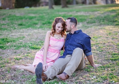 Tower Grove Park Engagement – Megan & Adam
