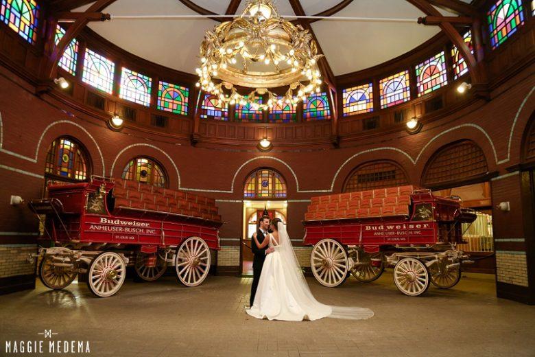 anheuser busch biergarten wedding st. louis