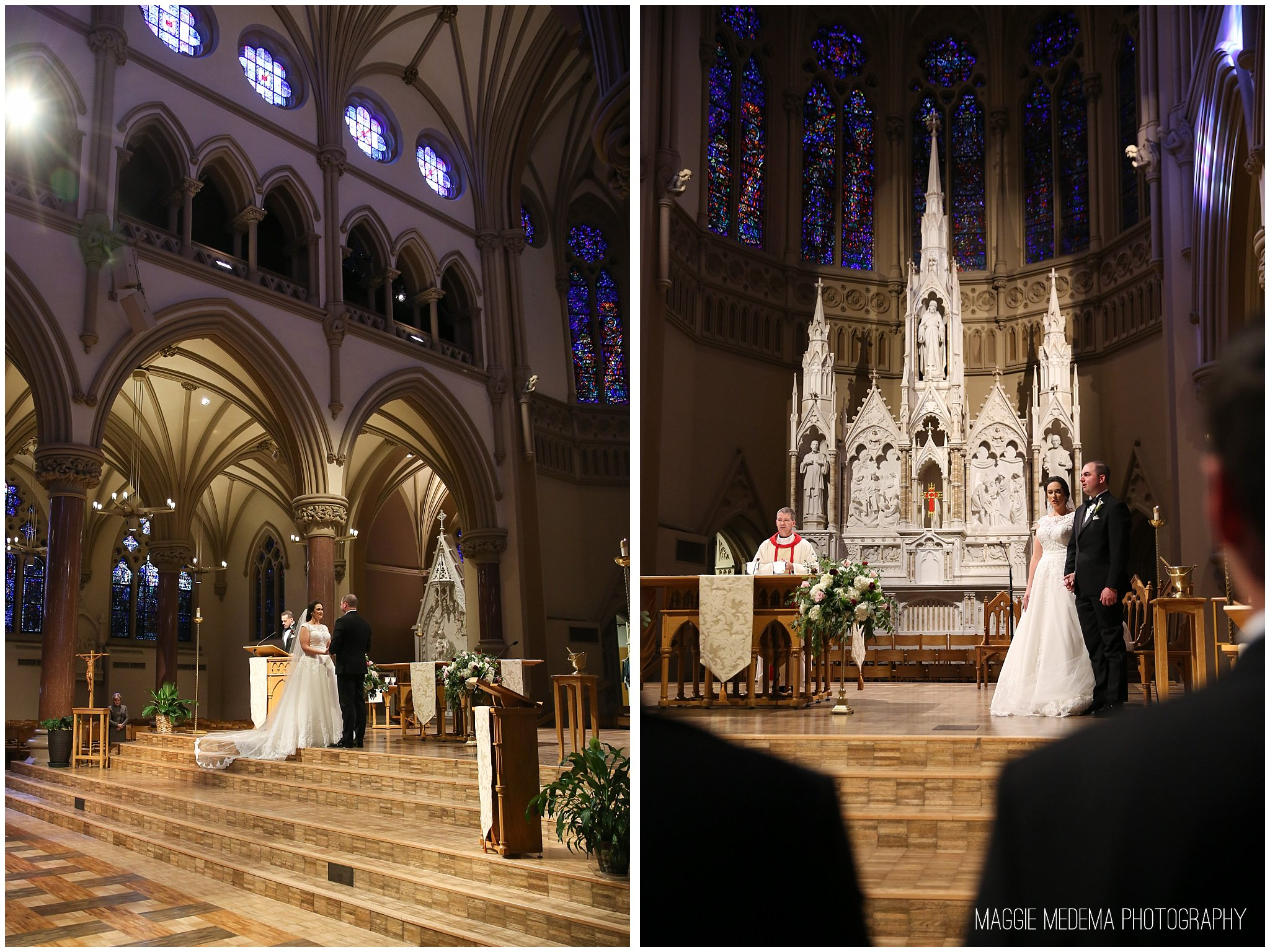 St. Francis Xavier College Church Wedding