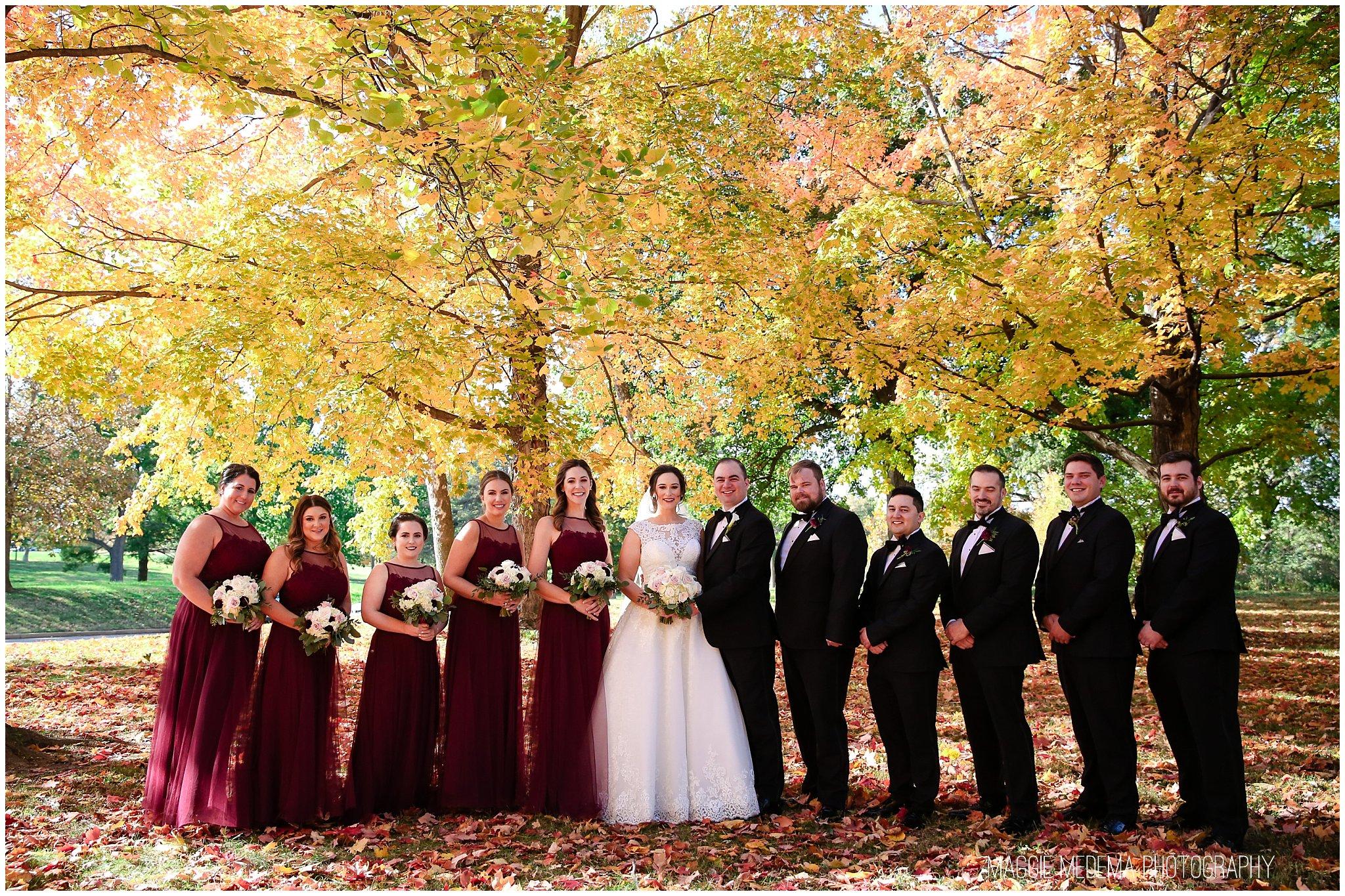 Forest Park Wedding Photos