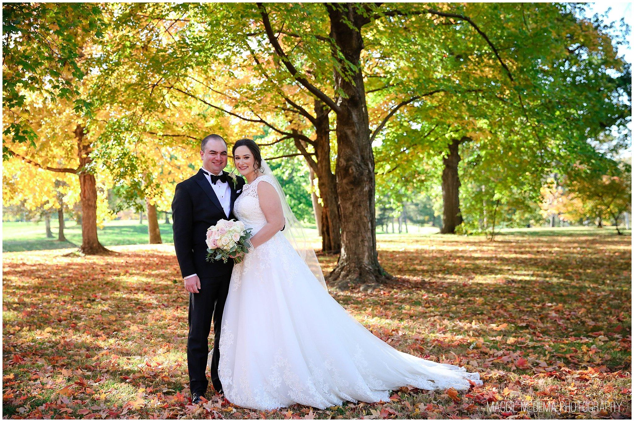 St. Louis Fall Wedding Photos