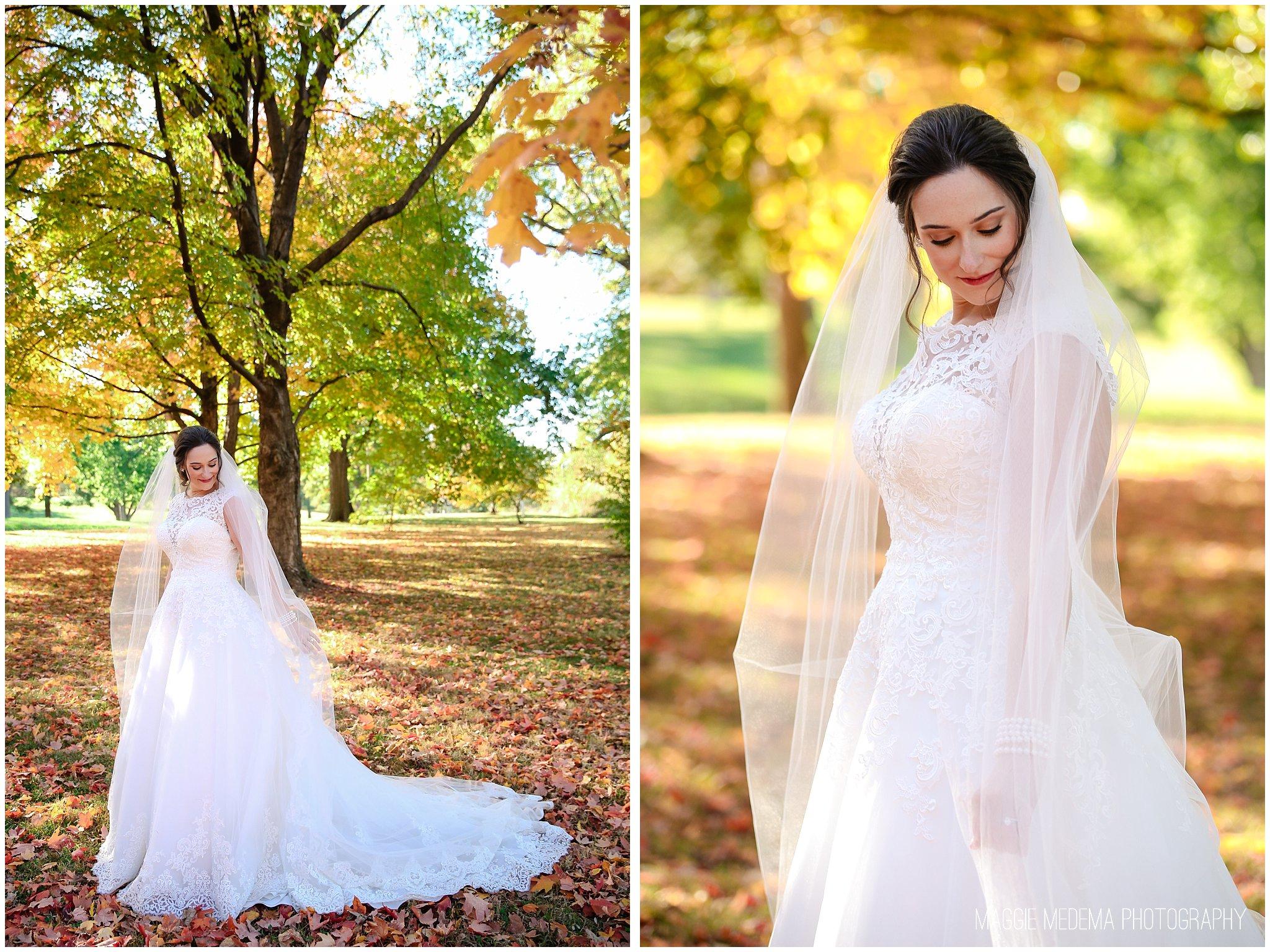 St. Louis Fall Wedding Portraits